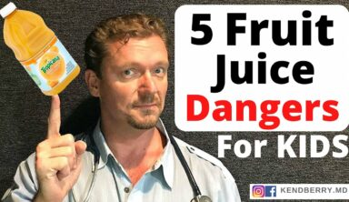 5 Fruit Juice DANGERS for Children (AAP Guidelines) JUICE=Junk Food?